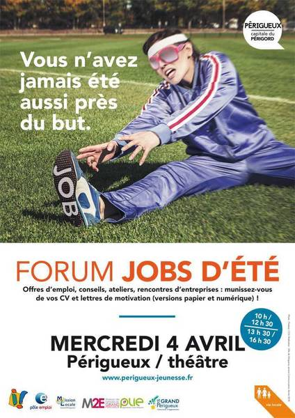 Forum Jobs d'été - 4 avril 2018